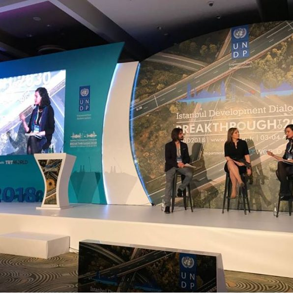 We participated to Istanbul Development Dialogues 2018.