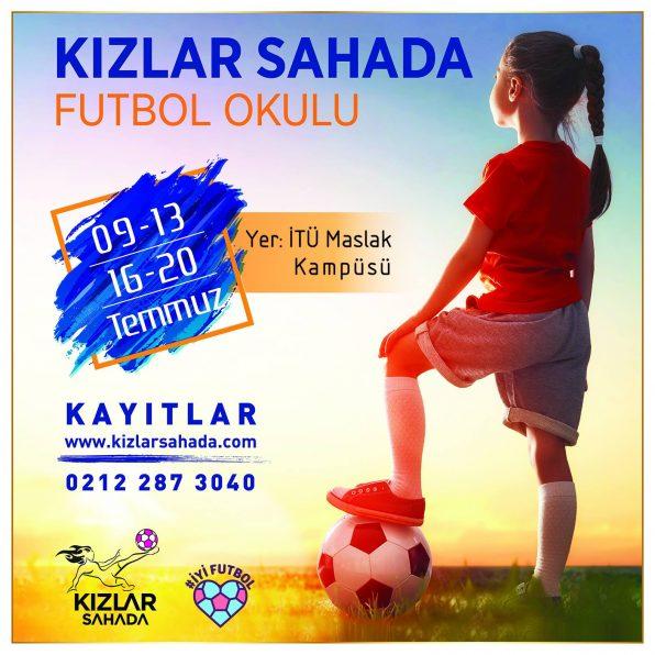 Kızlar Sahada Futbol Okulu