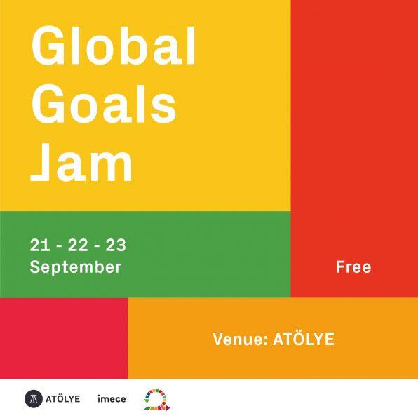 Global Goals Jam etkinliğini İstanbul'da düzenliyoruz.