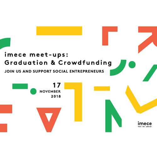 imece meet-ups: Graduation and Crowdfunding