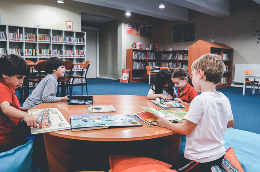 Learning environments featuring interaction