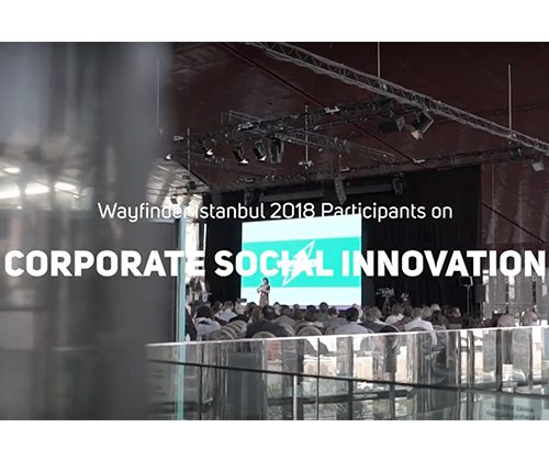 Wayfinder Istanbul: Corporate Social Innovation